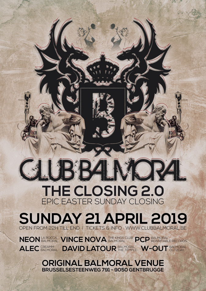 Balmoral - Epic Easter Sunday Closing - Sun 21-04-19, Club Balmoral